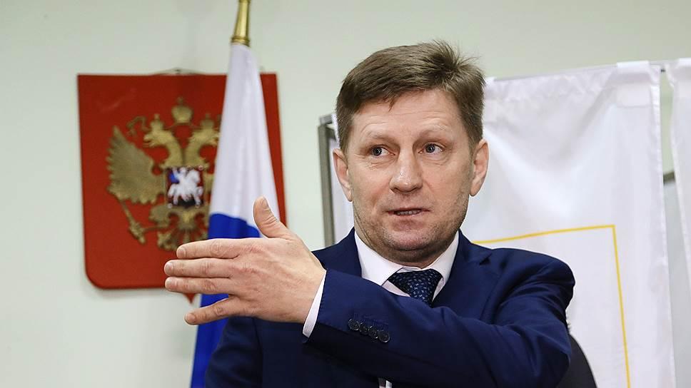 В суд на губернатора Хабаровского края Фургала подал местный кооператив